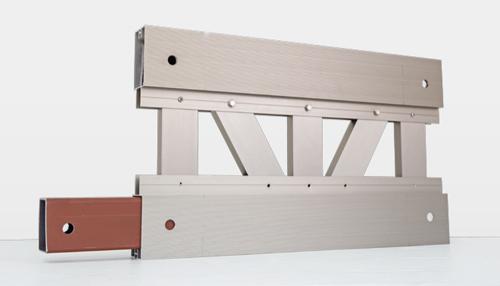 自由設計ガレージリベルテアルミトラス桁
