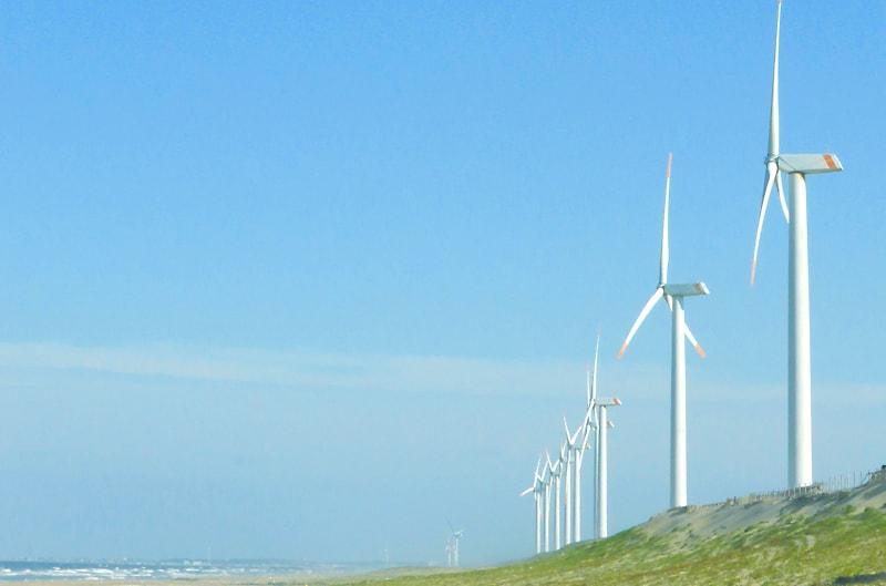 風力発電設置イメージ