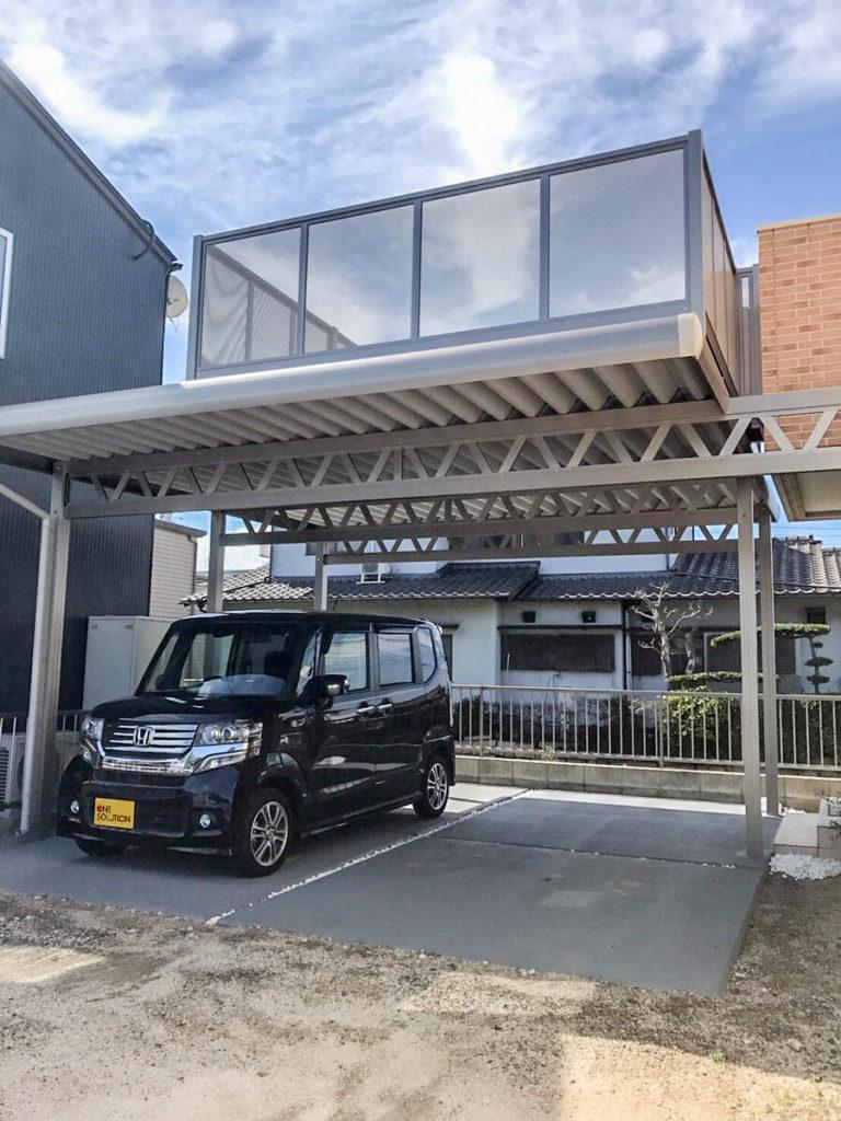 岡山県岡山市リベルテバルコニータイプ-K様-